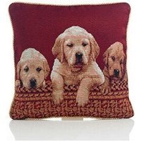Tapestry Cushion Cover 18 Bed Sofa Accessory Unfilled Labradors