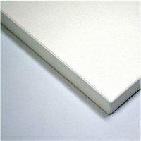 Netfurniture - Taybon Melamine Table Top White Melamine 1000 mm 25 mm Round