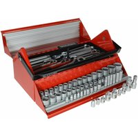 Teng TC187 Mega Rosso Tool Kit Set of 187 1/4 3/8 and 1/2in