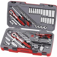 Teng Tools - Teng TM111 Tool Set of 111 Metric and AF 1/4in 3/8in and 1/2in Drive