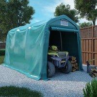 Tente de garage PVC 2,4x3,6 m Vert - VIDAXL