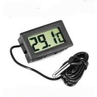LG - Termometro Digital Lcd Negro