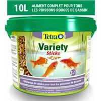 Alimentation Tetra Pond Variety Sticks Contenance 10 litres