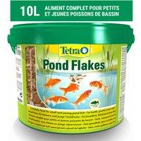 Alimentation Pond Flakes pour poissons de bassin 10 litres - Tetra