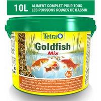 Alimentation Tetra Pond Goldfish Mix pour poissons de bassin Contenance 10 litres