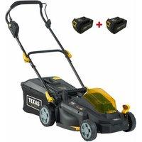 Razor 3300Li cordless battery lawnmower including two 3.0Ah 18V batteries 33cm cutting width - Texas
