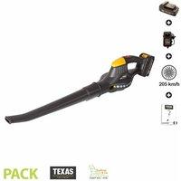 Souffleur à batterie sans fil 18v et chargeur vitesse 205km/h TEXAS SMART AIR 100