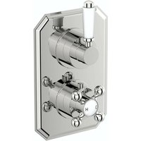 . Camberley twin thermostatic shower valve - The Bath Co