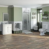 Orchard Winchester complete shower door and furniture suite 760