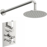 Winchester thermostatic shower valve set 200mm shower head - Orchard