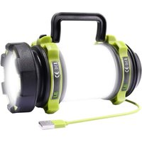 Briday - THE LED Camping Light, Rechargeable 2600mAh Camping Lantern, 6 Modes Powerful LED Torch Light, USB Cable Included, Waterproof for DIY,
