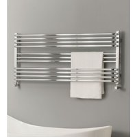 TRC - The Radiator Company BDO Poll Steel Horizontal Designer Heated Towel Rail 660mm x 1400mm Chrome