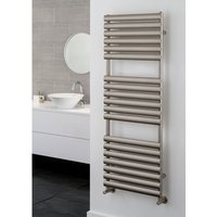 TRC - The Radiator Company Ellipsis Steel Vertical Designer Heated Towel Rail 1625mm x 400mm RAL