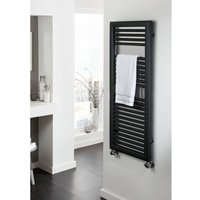 TRC - The Radiator Company Nova Steel Vertical Designer Heated Towel Rail 1807mm x 450mm RAL