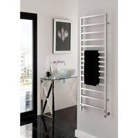 The Radiator Company Tole Aluminium Vertical Designer Heated Towel Rail 1902mm x 581mm Chrome
