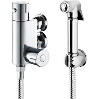 Thermostatic Mixer Shower Bidets Toilet Valve Hand Held Douche Kit Muslim Spray - Aica
