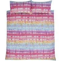 Rapport - Tie Dye Multi Single Duvet Cover Set Bedding Bed Quilt Set