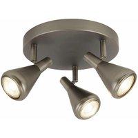 Tinley projector 3 bulbs gu10 antique silver