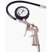 Tire pressure gauge for compressor-pressure 0-16 bar-valve d