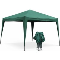 Tonnelle pliante 3 x 3 m - Tecto Vert - Tente de jardin pop up, pergola pliable, barnum, chapiteau, tente de réception, pavillon 9m² - ALICE'S GARDEN