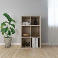 Topdeal Book Cabinet/Sideboard Sonoma Oak 50x25x80 cm Chipboard VDTD31374