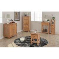 Five Piece Living Room Furniture Set Solid Oak VDTD17693 - Topdeal