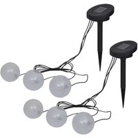 Topdeal Floating Lamps 6 pcs LED for Pond and Pool VDTD19854
