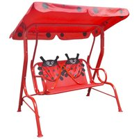 Kids Swing Seat Red VDTD26720 - Topdeal