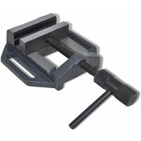Manually Operated Drill Press Vice 90 mm VDTD03910 - Topdeal