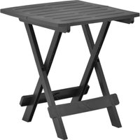 VDTD46700_FR Table pliable de jardin Anthracite 45x43x50 cm Plastique - Topdeal