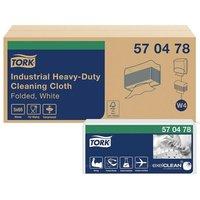 570478 Industrial Heavy Duty Cloth W4 White (CASE-325) - Tork