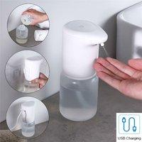 Touchless IR Automatic Hand Sanitiser Liquid Dispenser Wall Mountable 400ml USB