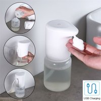 Touchless IR Automatic Hand Sanitiser Soap Dispenser Wall Mountable 400ml USB