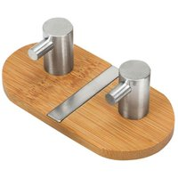 Towel hook, coat holder and bathroom hook, used in the kitchen, living room, double hook in the shape of the