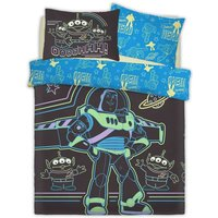 Childrens/Kids Intergalactic Panel Duvet Cover Set (Double) (Blue) - Toy Story