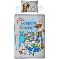 Roar Panel Duvet Set (Single) (Multicoloured) - Toy Story