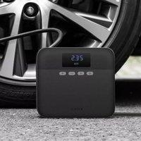 TP03 12V Air Pump Compressor Digital Display Portable Car Ti