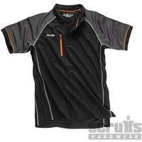 Trade Active Polo Black - XL (T54437)