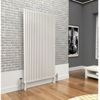 Premium White 2 Column Vertical Radiator 1800mm x 879mm - Traderad
