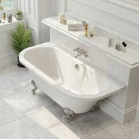 Traditional Freestanding Bath Roll-Top Double Ended Ball Feet 1700 Winchester