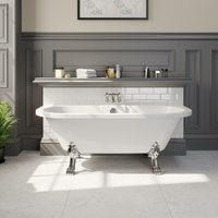Traditional Freestanding Roll-Top Bath Double Ended Dragon Feet 1700 Winchester - PARK LANE