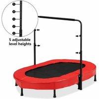 Rebond pliant trampoline double