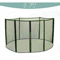 Trampoline Replacement Safety Net Enclosure Surround Netting - 8ft