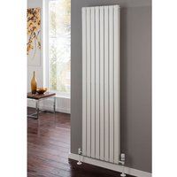 TRC Piano Steel White Vertical Double Panel Designer Radiator 1820mm x 624mm