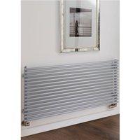 Sitar Steel White Single Panel Horizontal Designer Radiator 708mm x 1520mm - TRC