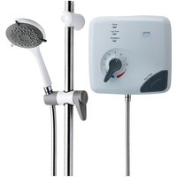 Safeguard Care T100 9.5kw Pumped Tank Fed Thermostatic Electric Shower - Triton