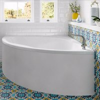 Laguna Double Ended Corner Bath 1200mm x 1200mm - No Tap Hole - Trojan