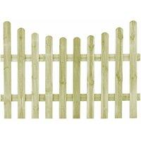 Portail de jardin Pin imprégné 170 x 120 cm - True Deal