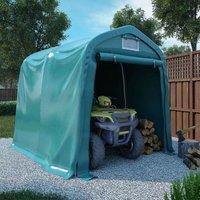 True Deal Tente de garage PVC 2,4x2,4 m Vert
