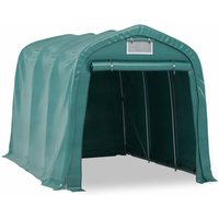 True Deal Tente de garage PVC 2,4x3,6 m Vert